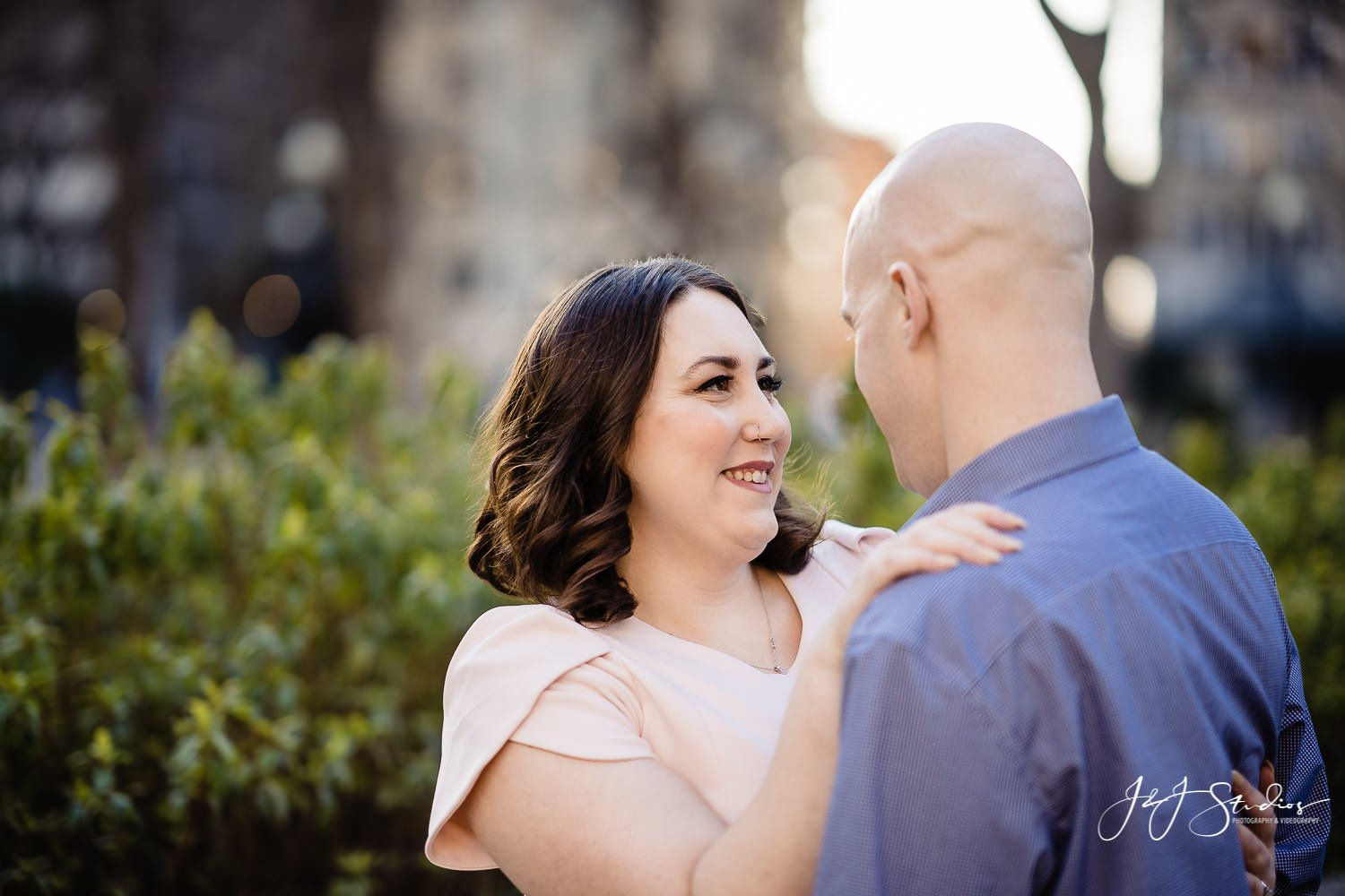 rittenhouse square philly engagement