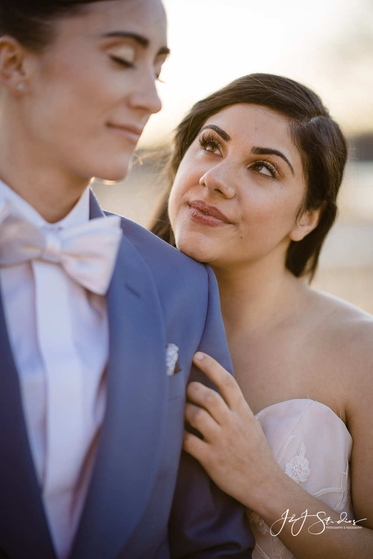 gorgeous philly lgbt wedding