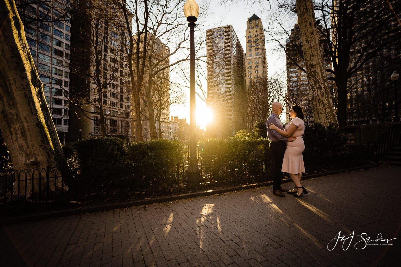 best rittenhouse square engagement photographer