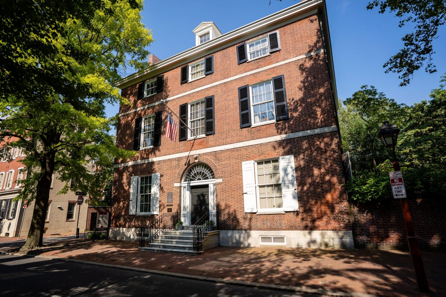 Hill Physick House philly photography brick